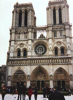 ノートルダム大聖堂の写真・画像素材[1237043]