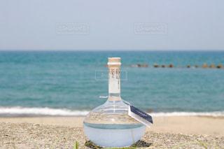 海といいちこフラスコボトルの写真・画像素材[1273555]