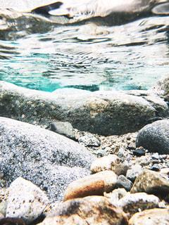 川の中の写真・画像素材[1357286]