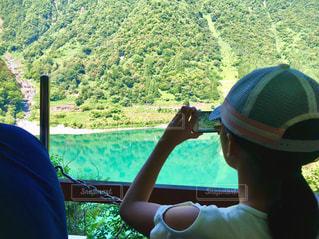 トロッコ列車からの眺めの写真・画像素材[1362111]