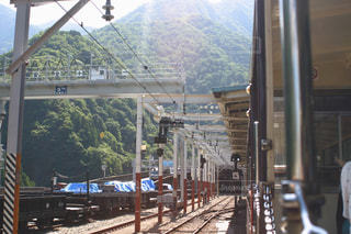 黒部峡谷鉄道の写真・画像素材[1429755]