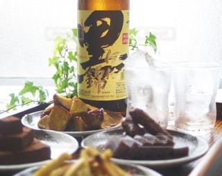 黒伊佐錦とスイーツの写真・画像素材[1444488]