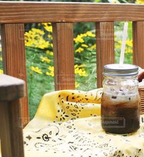 アイスコーヒーの写真・画像素材[1454269]