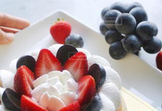 バースデーケーキの写真・画像素材[1498397]