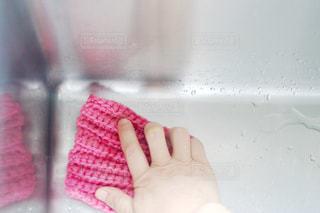 ピンク,手,掃除,ライフスタイル,エコ,手編み,環境,清掃,アクリル毛糸,シンク,洗う,アクリルたわし,水回り,エコたわし