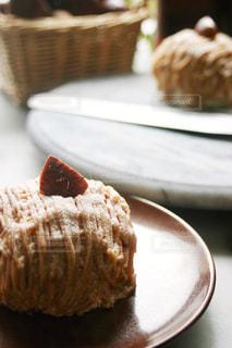 食べ物,スイーツ,秋,ケーキ,栗,茶色,洋菓子,おうちカフェ,手作り,食,モンブラン,秋の味覚,食欲の秋,渋川煮