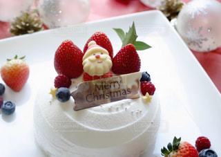 クリスマスケーキの写真・画像素材[1587254]