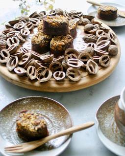 スイーツ,ケーキ,洋菓子,お菓子,チョコレート,くるみ,バレンタイン,チョコレートケーキ,手作り,焼き菓子,バレンタインデー,おもてなし,クルミ,鬼くるみ