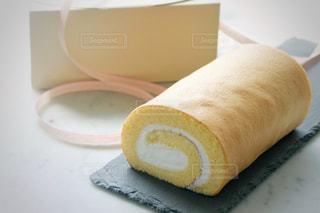 ロールケーキの写真・画像素材[2055478]