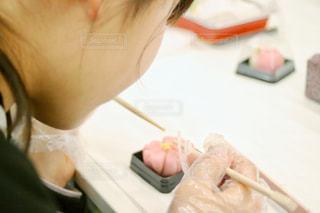 和菓子作りの写真・画像素材[2059651]