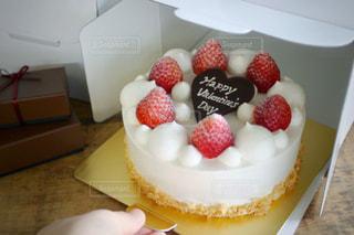 バレンタインケーキの写真・画像素材[2958565]