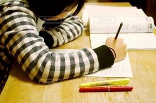 自宅学習の写真・画像素材[3436579]