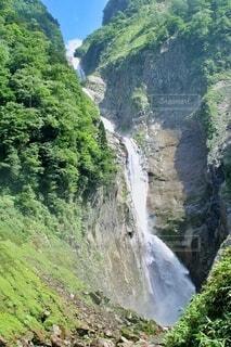 称名滝の写真・画像素材[4168982]