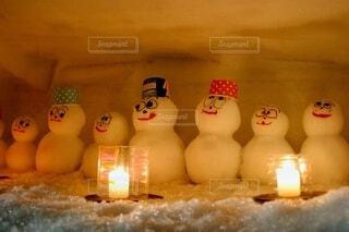雪だるまの写真・画像素材[4210649]