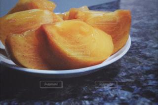 食べ物,秋,オレンジ,フルーツ,果物,新鮮,カキ,柿