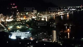 眺め,和布刈公園から見た 門司港レトロ