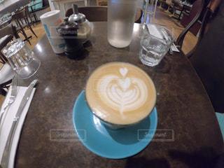 カフェ,ハート,カフェラテ,ラテアート,オーストラリア,メルボルン