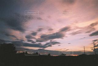 空の雲の写真・画像素材[707488]