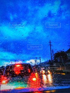 夜の街の景色の写真・画像素材[848130]