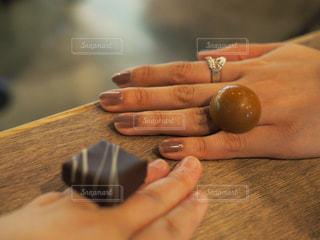 食べれる指輪の写真・画像素材[803164]