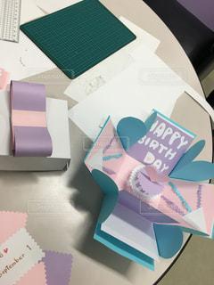 工作,バースデーカード,誕生日カード,ポップアップカード,ポップアップカードボックス