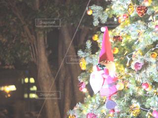 冬,クリスマス,ツリー,サンタ