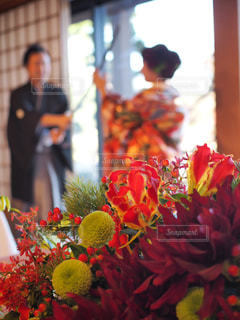 色とりどりの花の花瓶 - No.1233765