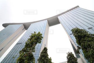 大きな白い建物の写真・画像素材[916028]
