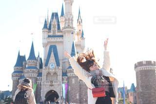 休日,ディズニーランド,ディズニー,シンデレラ城,お出かけ