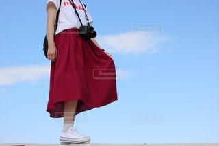 衣装を着ている人の写真・画像素材[1113840]