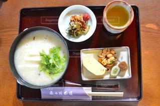 食べ物,カメラ,ランチ,京都,iphone,lunch,お粥,春日荷茶屋