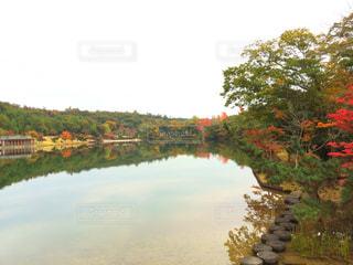 水の体の上の橋の写真・画像素材[754236]