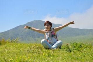 自然,カメラ,緑,新緑,熊本,写真,阿蘇,草千里,インスタ映え