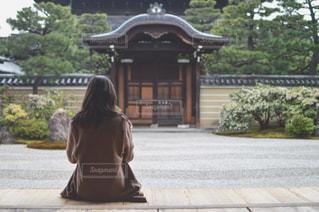 女性,20代,カメラ女子,京都,旅行,写真,寺,インスタ映え