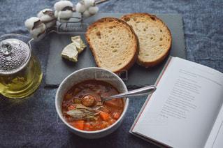 朝食,スープ,美味しい,ソーセージ,アンバサダー,ジョンソンヴィル