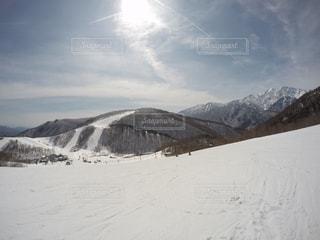 自然,アウトドア,空,スポーツ,雪,山,人物,スキー,ゲレンデ,レジャー,スキー場,斜面,クラウド