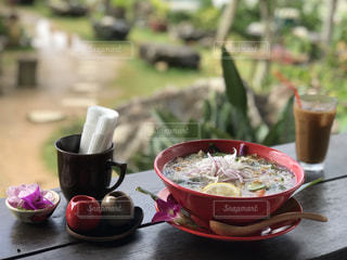 カフェでランチin沖縄の写真・画像素材[1716975]