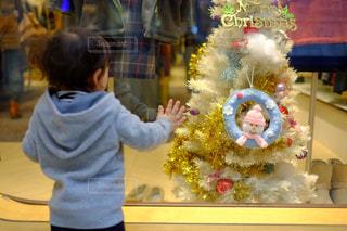 子ども,冬,子供,クリスマス,クリスマスツリー