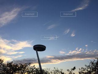 日没前の風景の写真・画像素材[1038373]