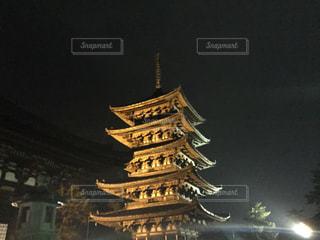 興福寺の五重塔の写真・画像素材[1705378]
