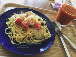 おうちごはん,ランチ,トマト,パスタ