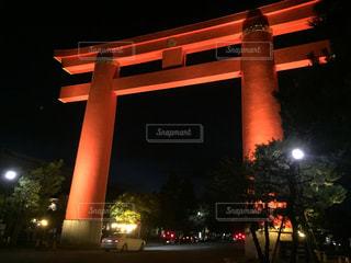平安神宮の大鳥居の写真・画像素材[791681]
