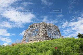六甲山のモニュメントの写真・画像素材[759267]