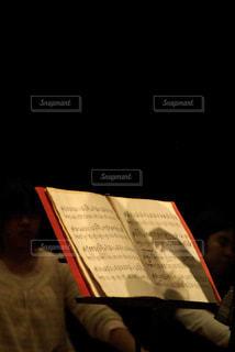 マンドリンの指揮と楽譜 - No.805491