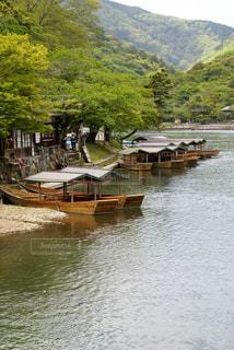 嵐山の屋形船 - No.919846