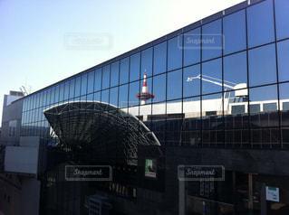 モダンな京都駅の写真・画像素材[919871]