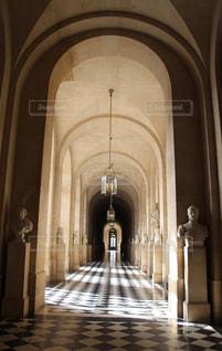 ヴェルサイユ宮殿の廊下 - No.1034416