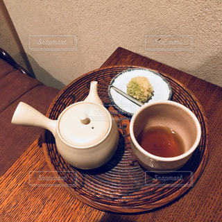 ほうじ茶と和菓子 - No.1052641