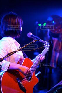 ギター初お披露目の写真・画像素材[823129]