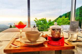 テーブル ワインのグラス - No.867159